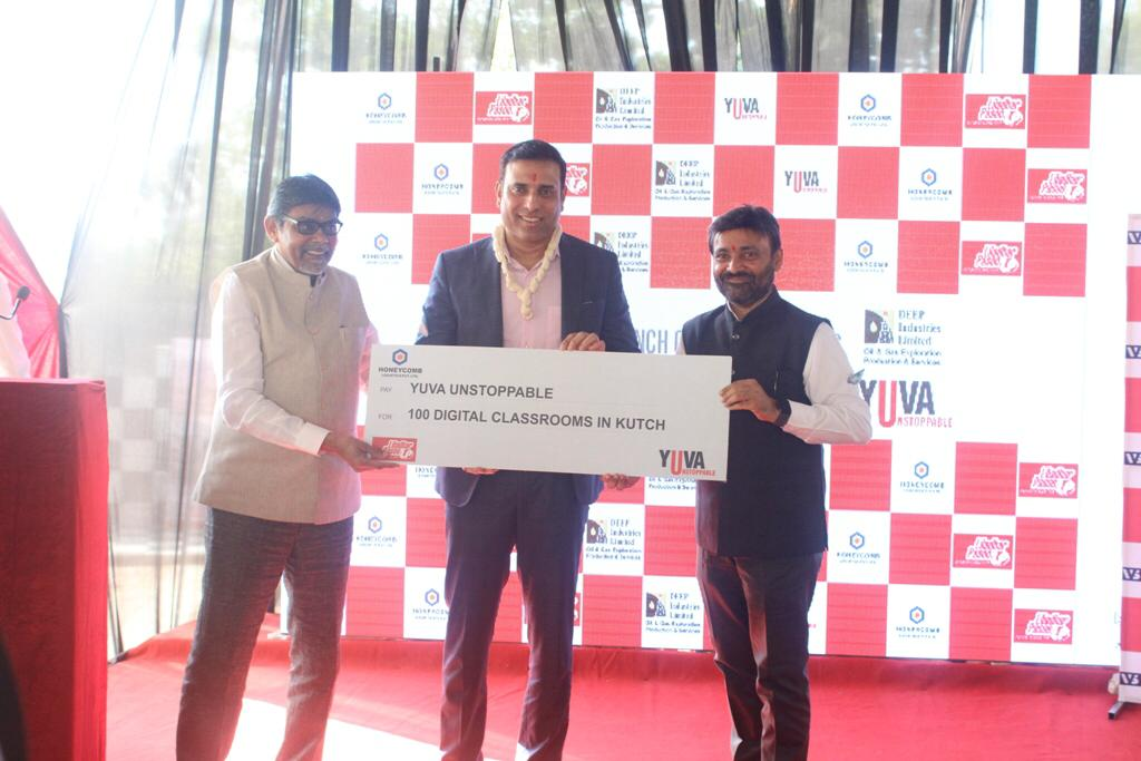 V.V.S.Laxman was the Chief Guest at the event